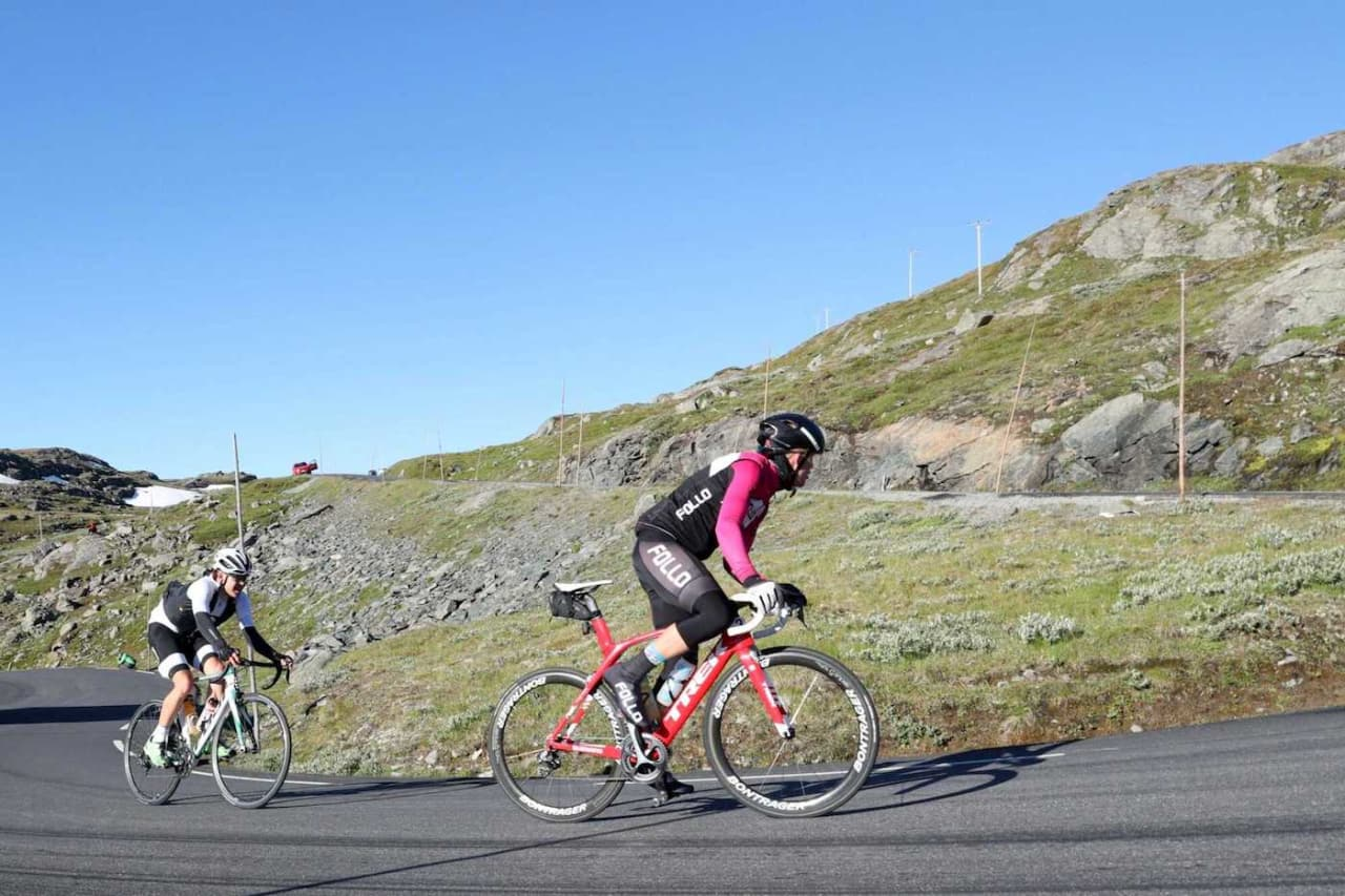 TUNGT: Fredrik Lorentzen Henne og Erno Kainulainen. Foto: Ola Morken