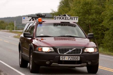 LEDEBILER: Først fikk Styrkeprøven skriftlig tilllatelse til å kjøre ledebiler foran de åtte første puljene i lagkonkurransen. I forrige uke ble tillatelsen trukket tilbake.