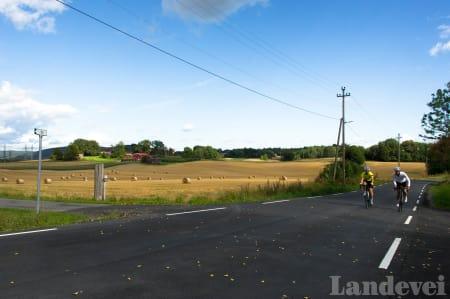 LANDLIG: Klatringen til Bærums tak ligger landlig til, rett utenfor Sandvika.