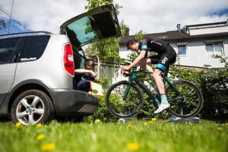 FARTSTRENING: Bli med Landevei på en pesøkt med svært høy fart! Foto: Christian Nerdrum.