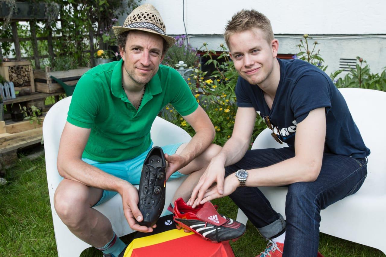 FOTTØY: Dette kunne vært kong Eddys sko. Men hvor god var han egentlig? Foto: Christian Nerdrum.