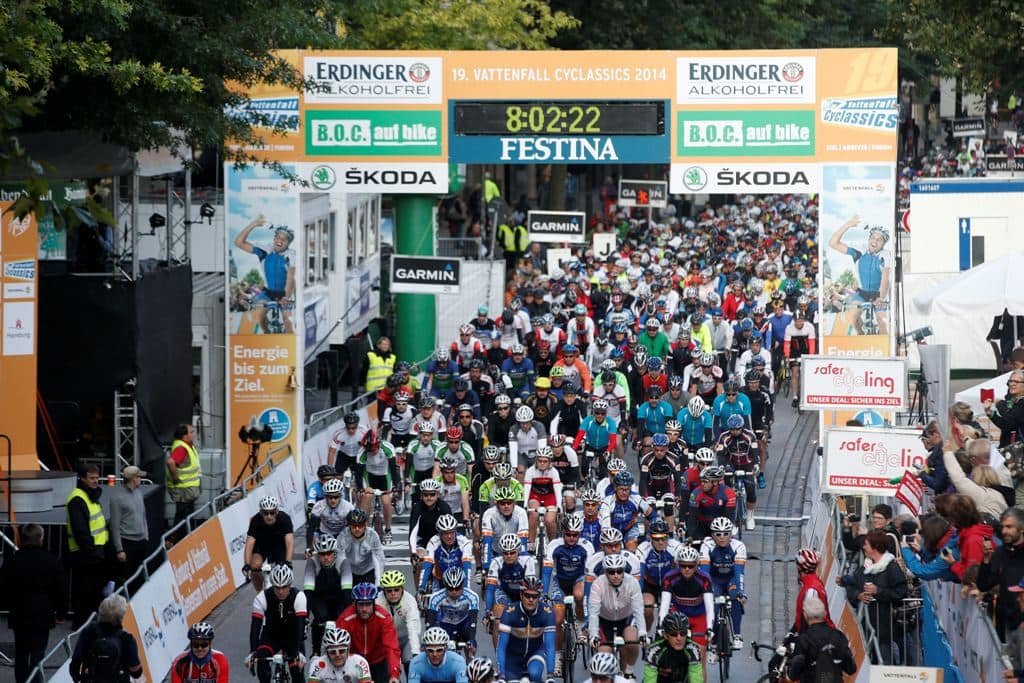 STORT: Vattenfall Cyclassics tiltrekker 20.000 tursyklister fra hele verden hvert år. Foto: COR VOS.