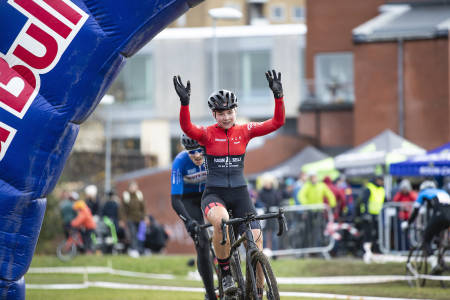 OVERLEGEN: Mie Bjørndal Ottestad vant Superpokal Voldsløkka 2019 med knusende margin. Foto. Pål Westgaard