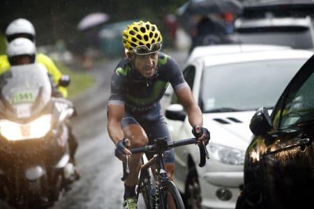 VÅGAL: Ion Izaguirre avgjorde etappen i den glatte utforkjøringen ned til Morzine. Foto: Cor Vos.
