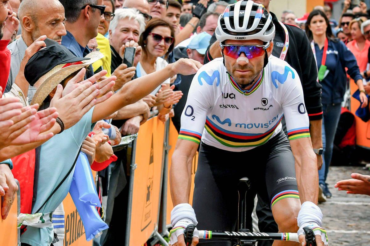 GIR SEG: Evigunge Alejandro Valverde melder at han legger opp, men ikke med en gang. Foto: Cor Vos.