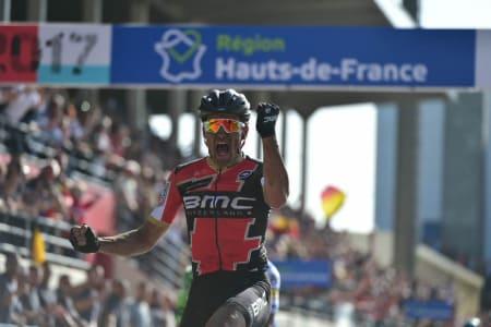 STERKEST: Greg van Avermaet tegnet seg for nok en seier i en allerede sterk sesong. Foto: ASO.