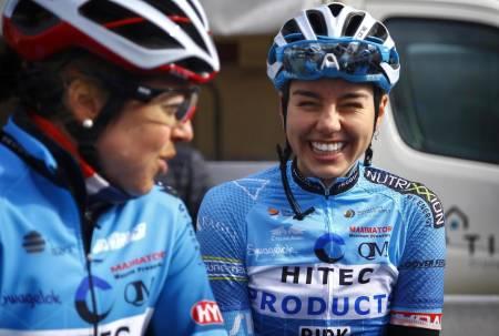 DEPPER IKKE: Amalie Lutro virker ikke å ta det altfor tungt om det ikke blir flere løp denne sesongen. Foto: Cor Vos.