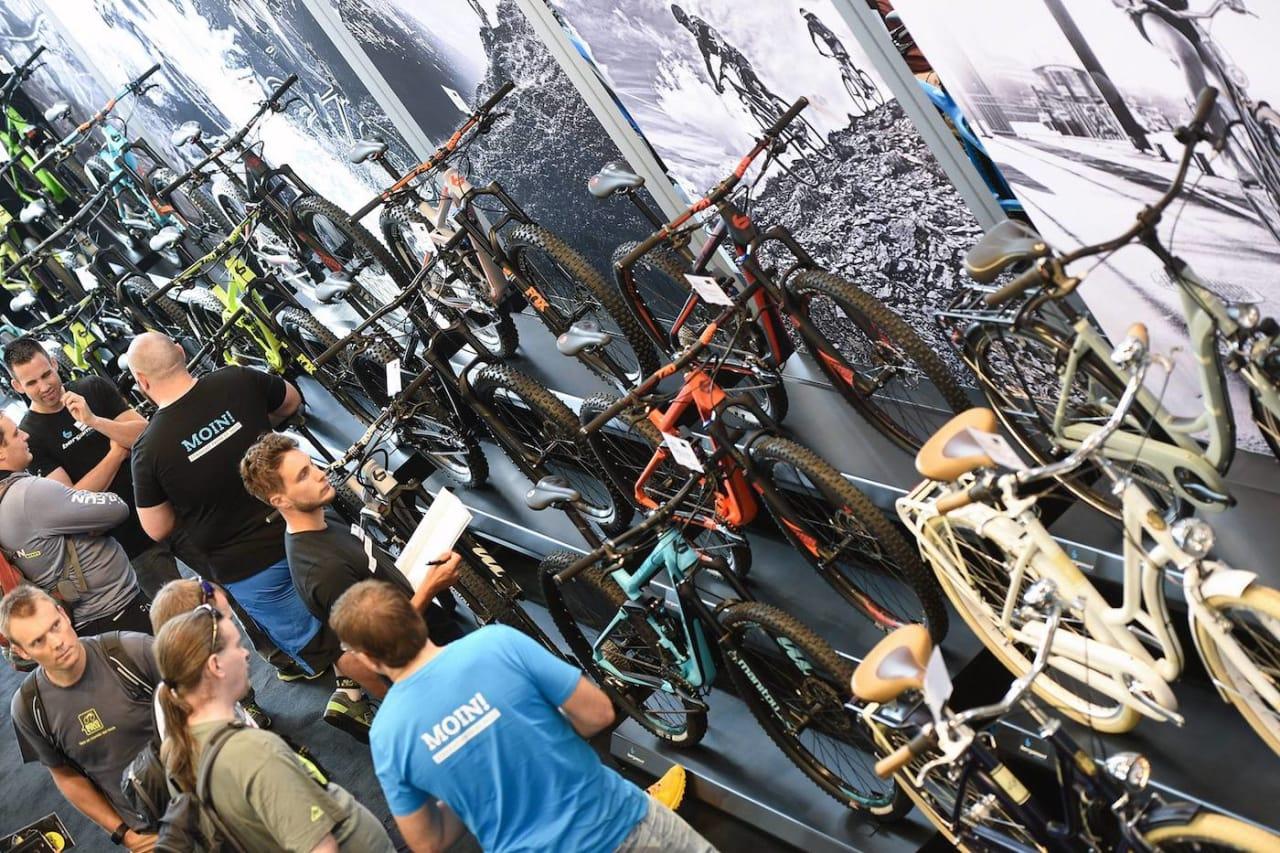 SYKKELMESSE: Bike Expo blir Norges egen sykkelmesse, og arrangeres for første gang helga 2.til 4. mars på Hellerudsletta. Foto: Eurobike