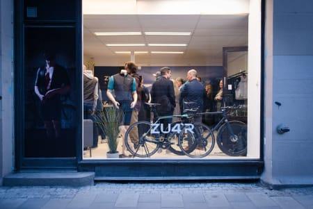 TESTING TESTING: Popup-butikken i Tollbugata er en test for Zu4r. Butikken er åpen frem til 1. juni.