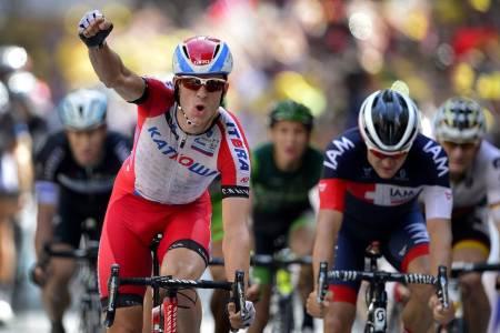 TIL ITALIA: Alexander Kristoff kjører etter planen Giro d'Italia i stedet for Tour de France i 2020. Foto: Cor Vos.