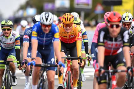 OUTSIDER: Hva kan Markus Hoelgaard og Uno-X Pro Cycling få til i Amstel Gold Race? Foto: Mario Stiehl