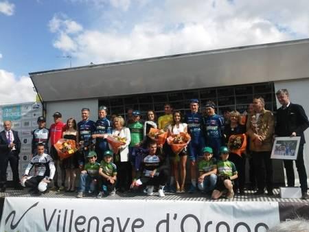 TOTAL DOMINANS: Team Joker-Byggtorget vant alt som kunne vinnes, unntatt den røde poengtrøyen, i Tour de Gironde denne helgen. Foto: Tour de Gironde (Quentin Rolland)