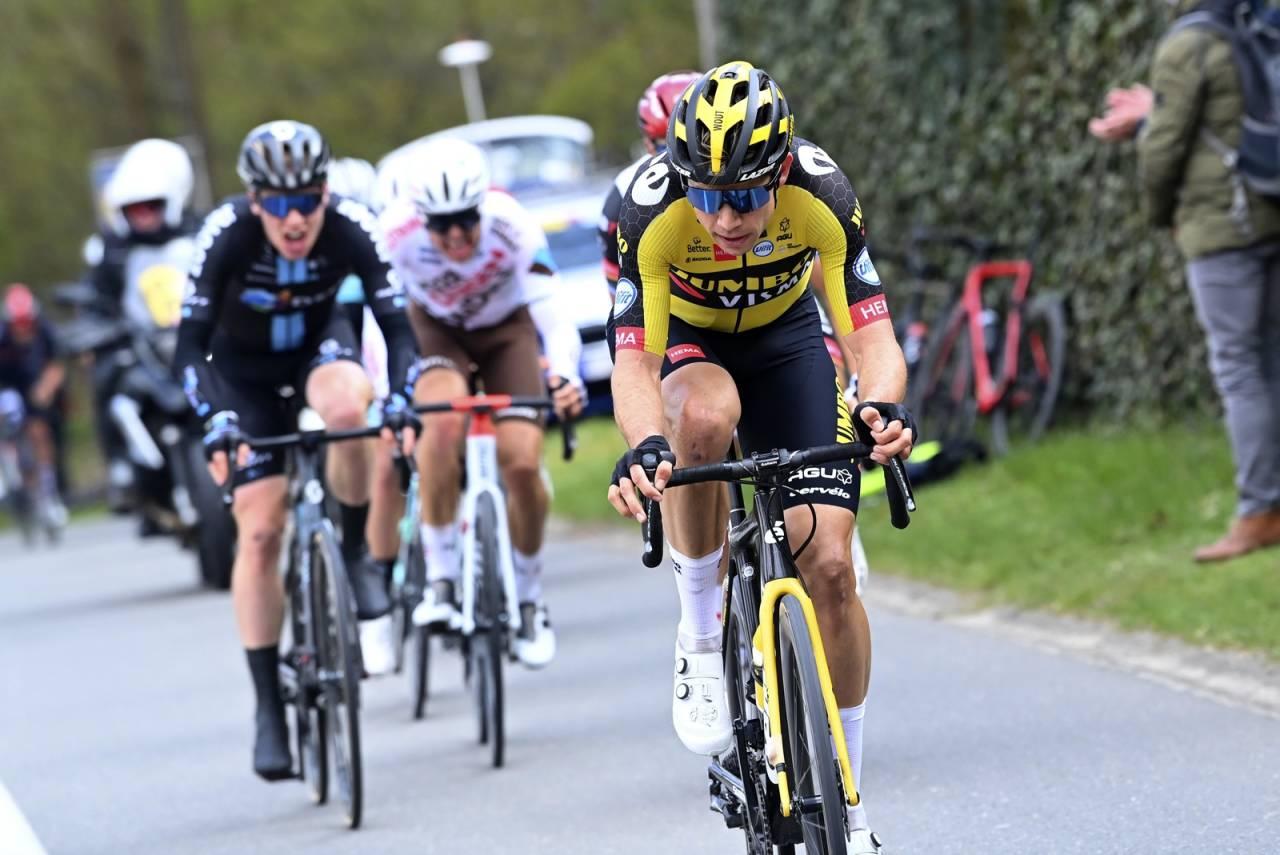 IRRITERT: Andreas Leknessund imponerte mange i Brabantse Pijl, men i etterkant har han vært litt irritert på seg selv. Foto: Cor Vos