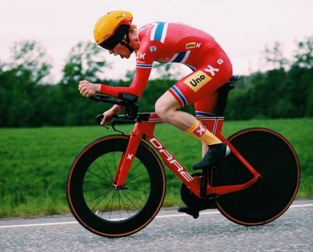Andreas Leknessund norsk mester på tempo