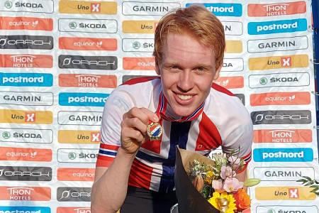 Andreas Leknessund Uno-X Pro Cycling vant Hafjell Grand Prix 2020