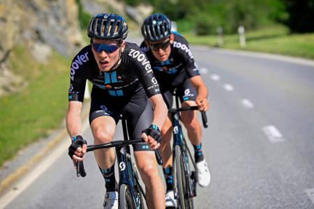 OFFENSIV: Andreas Leknessund kjørte sterkt i Tour de Suisse og angrep på flere etapper. Foto: Cor Vos