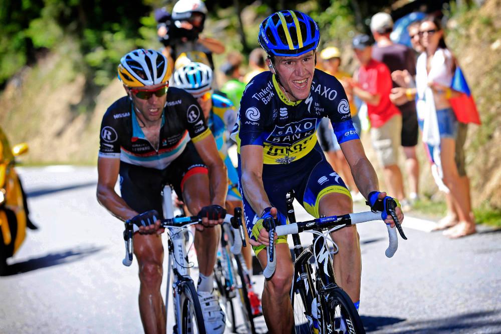 DØD: Chris Anker Sørensen er et velkjent fjes og navn for Tour de France-seerne. Lørdag døde han etter en påkjørsel. Foto: Cor Vos
