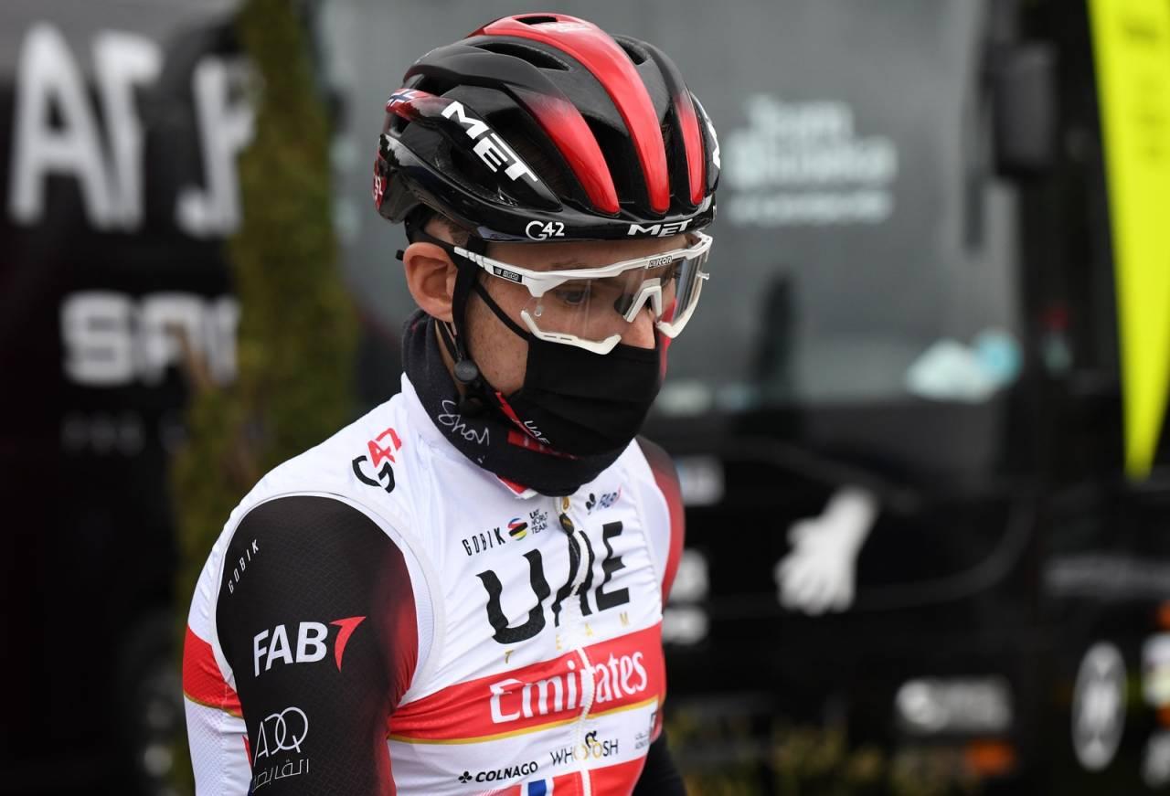 GODT RESULTAT: Sven Erik Bystrøm, her foran den andre etappen av Tour de la Provence fredag, gjorde det godt i finalen på etappen. Foto: Cor Vos