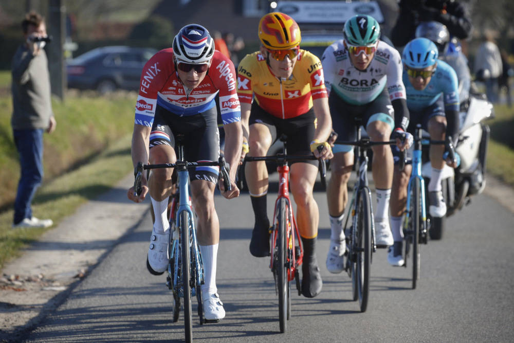 uno-x pro cycling e3 saxo bank classic løypeprofil favoritter jonas iversby hvideberg mathieu van der poel wout van aert