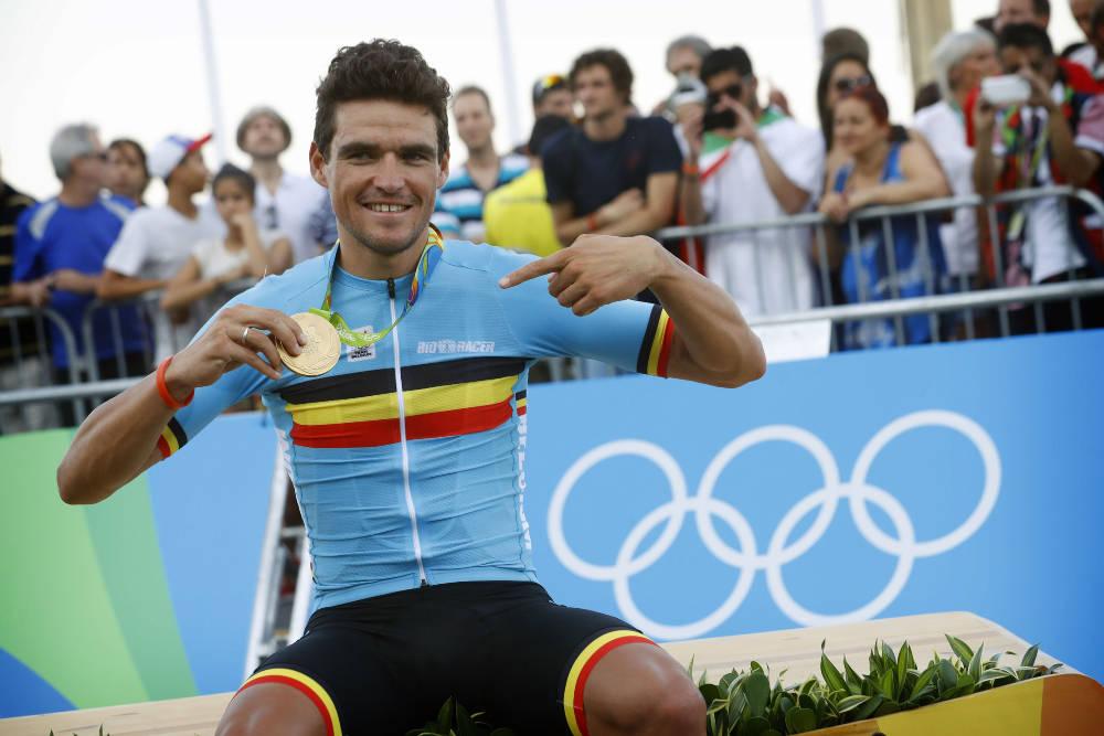 VANT I 2016: I Rio var det Greg Van Avermaet som ble olympisk mester. Foto: Cor Vos