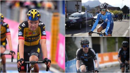 KLARE FOR OL: Tobias Foss, Katrine Aalerud og Andreas Leknessund er tre av rytterne som er tatt ut til OL. Foto: Cor Vos