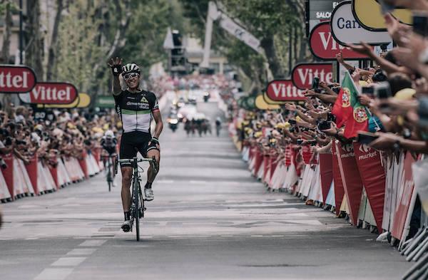 EDDY THE BOSS: Edvald har hevet seg i massespurtene i årets Tour de France, men måtte i brudd for å sikre seg etappeseieren. Foto: Kristof Ramon