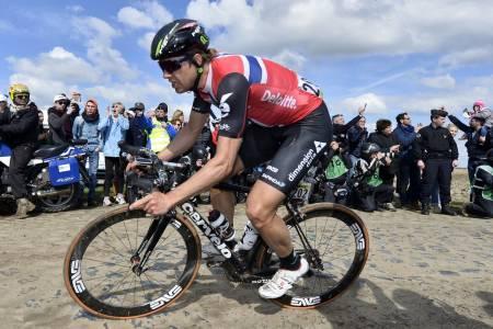 EDDY THE BOSS: Edvald Boasson Hagen fikk endelig en etappeseier i årets Tour of Norway Foto: Cor Vos.