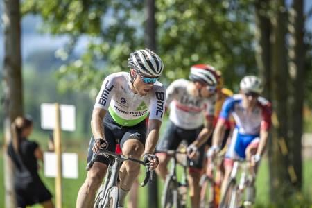 Rasmus Fossum Tiller er en av rytterne som er tatt ut til landeveis-EM i Nederland neste uke. Foto: Pål Westgaard