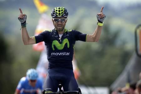 REPRISE: Alejandro Valverde gjorde som i fjor, og vant La Flèche Wallone i suveren stil. Foto: Cor Vos.