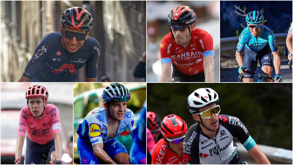 HVEM VINNER: Et sterkt startfelt i årets Giro d'Italia, og det er mange om beinet. Foto: Cor Vos