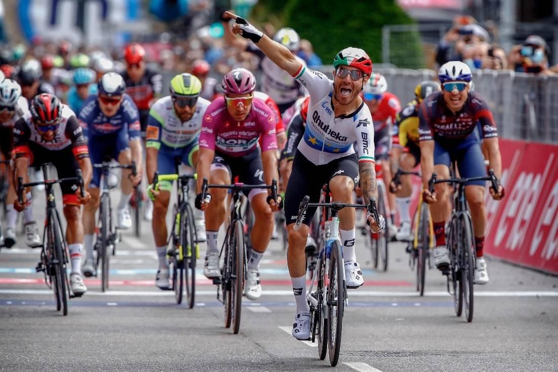 ENDELIG: Giacomo Nizzolo fikk sin etterlengtede seier. Foto: Cor Vos