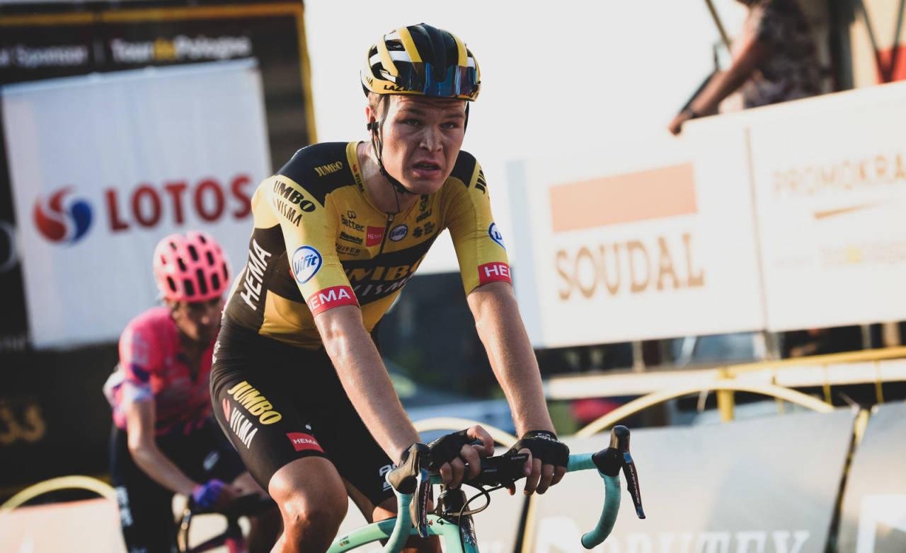 TIL ITALIA: Tobias Foss er nå bekreftet som hjelperytter i Giro d'Italia. Foto: Cor Vos.