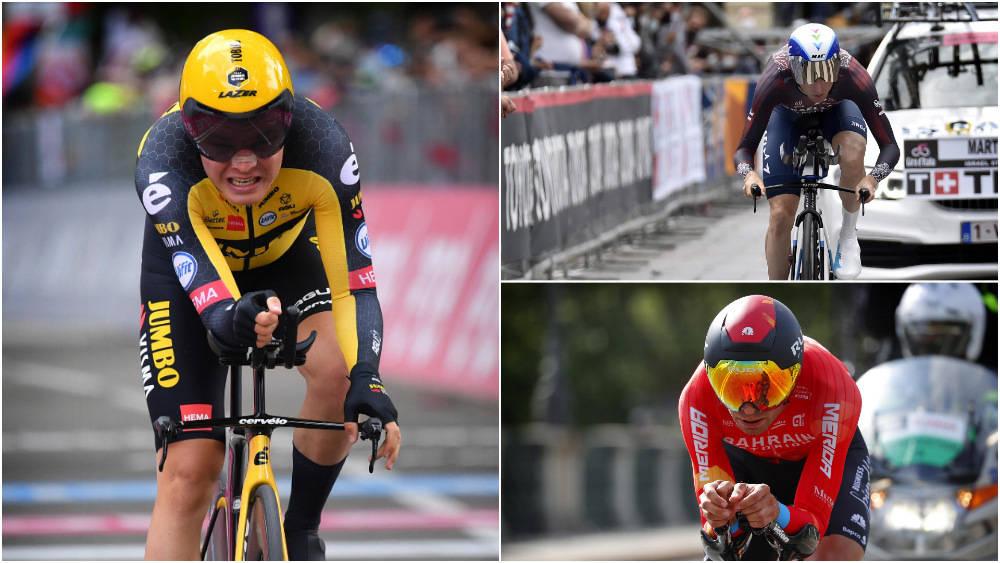DIFFERANSER: Allerede etter første etappe er det noen ryttere som har tapt litt tid. Tobias Foss er blant rytterne som kom best ut av det. Foto: Cor Vos