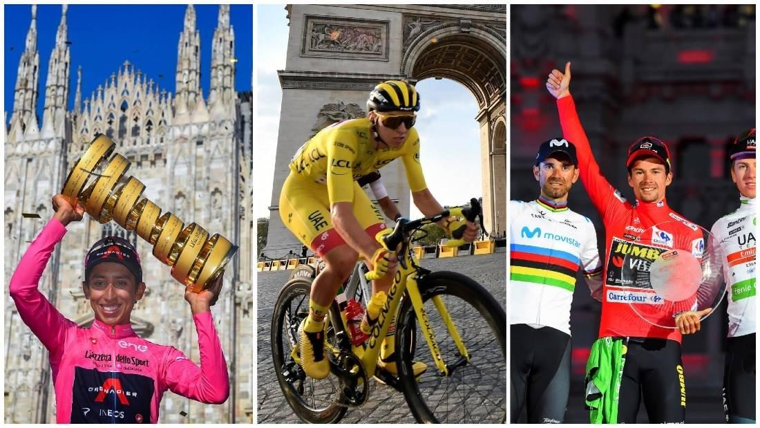TRE GRAND TOURS: Giro d'Italia, Tour de France og Vuelta a España omtales alle som Grand Tours. Hva er historien bak? Foto: Cor Vos