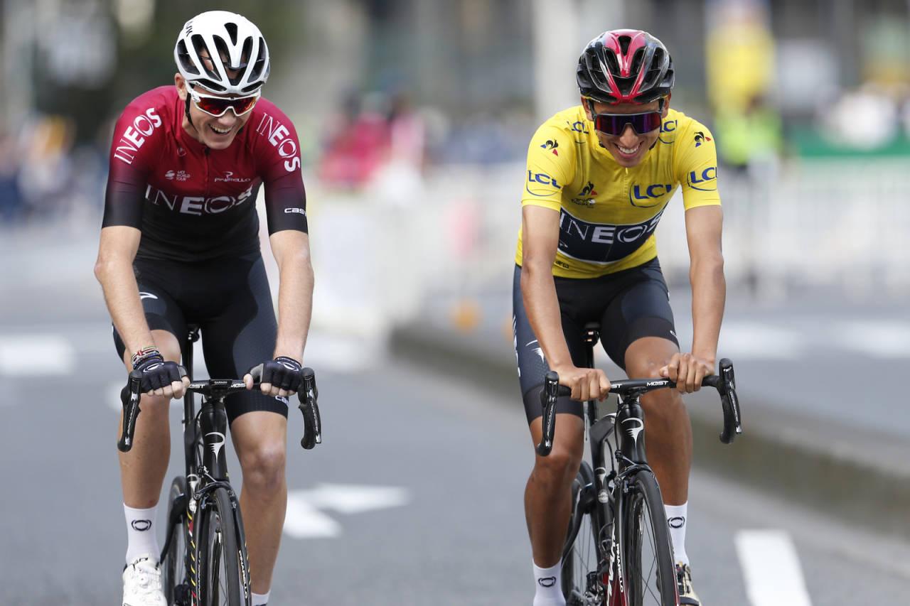 VRAKET! Verken Chris Froome eller Geraint Thomas får kjøre årets Tour de France. Foto: Cor Vos.