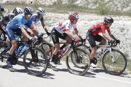 Katrine Aalerud på femteplass i Vuelta a Burgos 2021