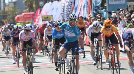 FJERDEPLASS: Kristoffer Halvorsen i Tour of Turkey. Foto: Mario Stiehl