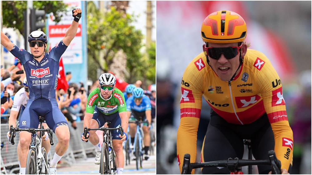 IKKE NÅDIG: Kristoffer Halvorsen er alt annet enn imponert over UCI, blant annet etter spurten Jasper Philipsen vant på den syvende etappen. Foto: Cor Vos/Mario Stiehl
