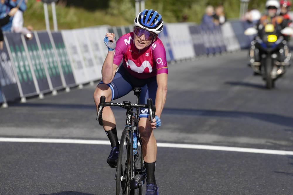 ETAPPESEIER: Annemiek van Vleuten var overlegen opp til Norefjell, på den tredje etappen av Ladies Tour of Norway. Foto: Cor Vos