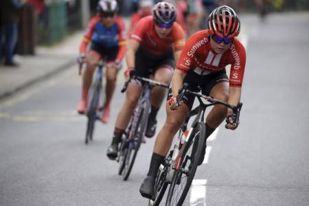 NORSK HÅP: Susanne Andersen har levert sterke resultater i år, og er ett av Norges sterkeste kort på åpningsetappen i Ladies Tour of Norway i dag. Foto: Cor Vos