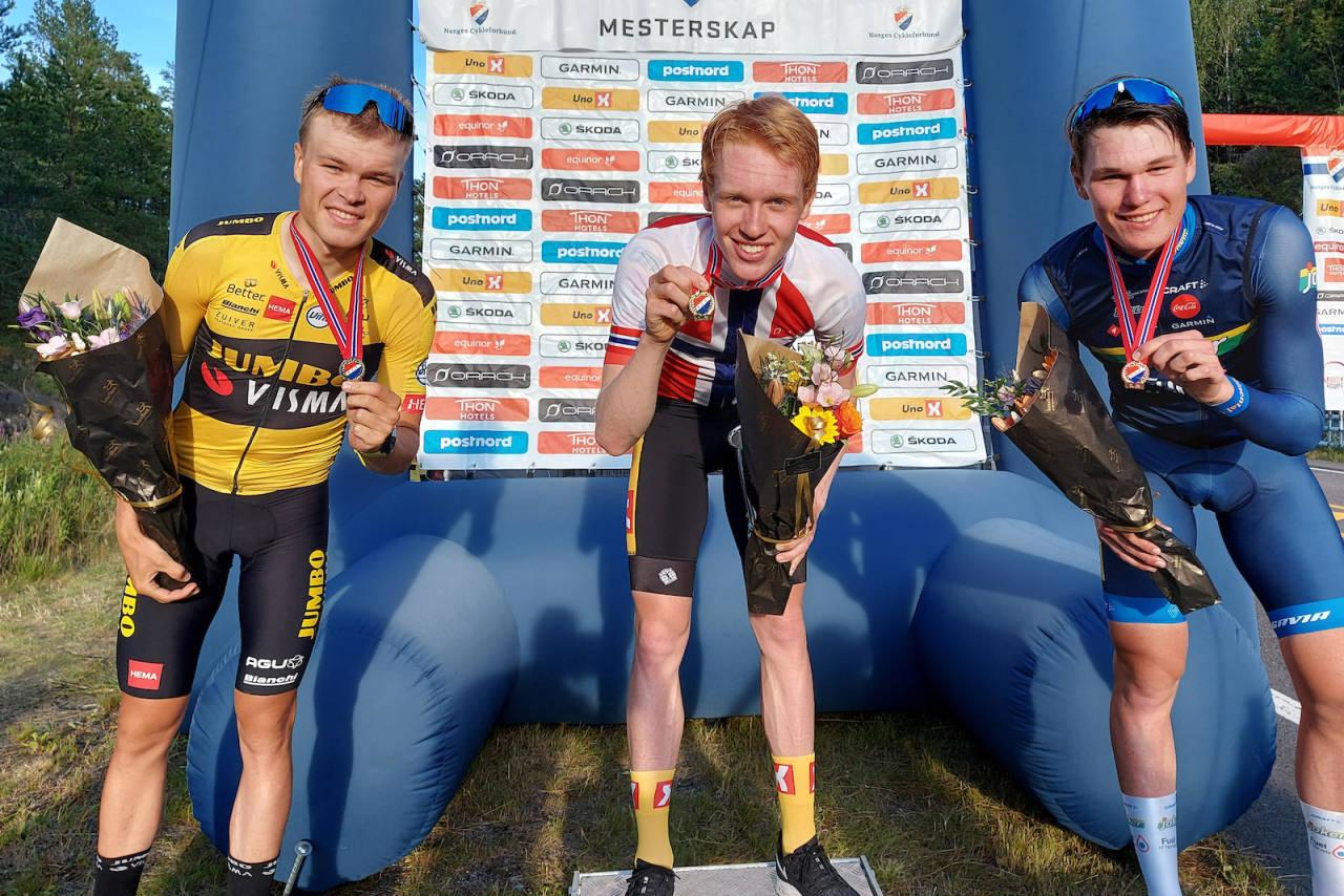 Andreas Leknessund tok NM-gull i tempo 2020