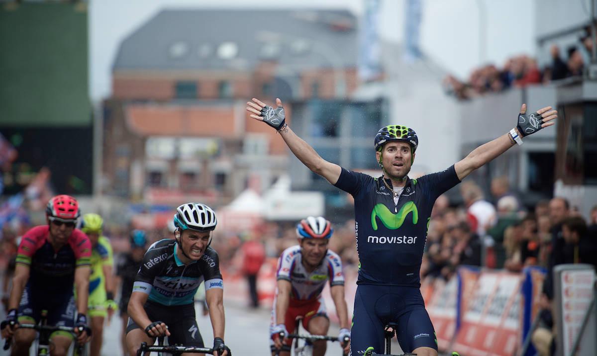 SEIERSVANT: Alejandro  Valverde vinner og vinner, her fra Liège i 2015. Foto: Kristof Ramon