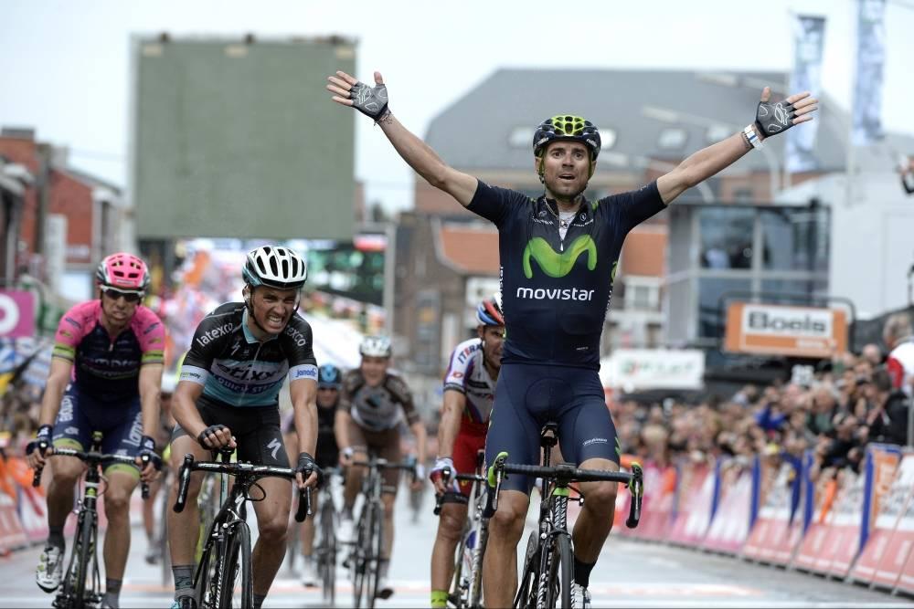 DEN TREDJE: Alejandro Valverde tok sin tredje Liège-Bastogne-Liège-seier. Foto: Cor Vos