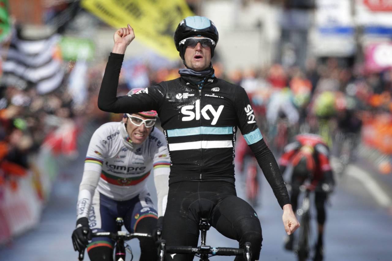 STOR TRIUMF: Wout Poels tok en fantastisk seier for Team Sky i Liege-Bastogne-Liege. Foto: Cor Vos.