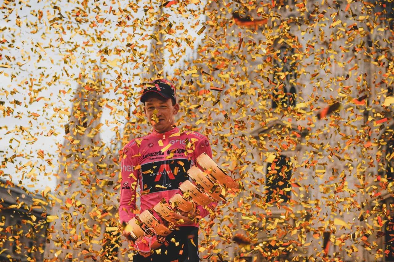 STØRRE MÅL: Tao Geoghegan Hart har store ambisjoner for fremtiden, etter den overraskende seieren i Giro d'Italia. Foto: Cor Vos.