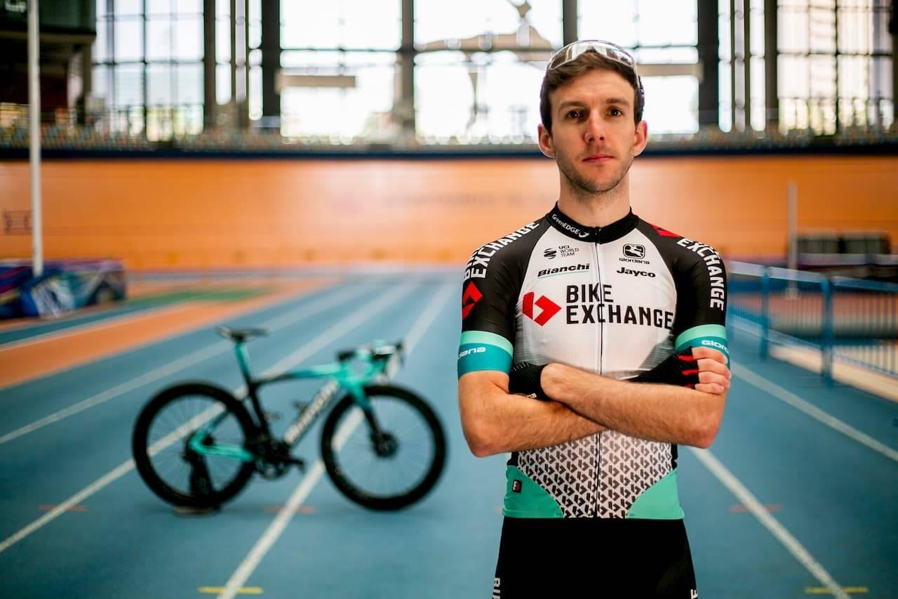 NYTT NAVN OG NYE DRAKTER: I denne drakten skal Amund Grøndahl Jansen sykle neste sesong. FOTO: Team BikeExchange