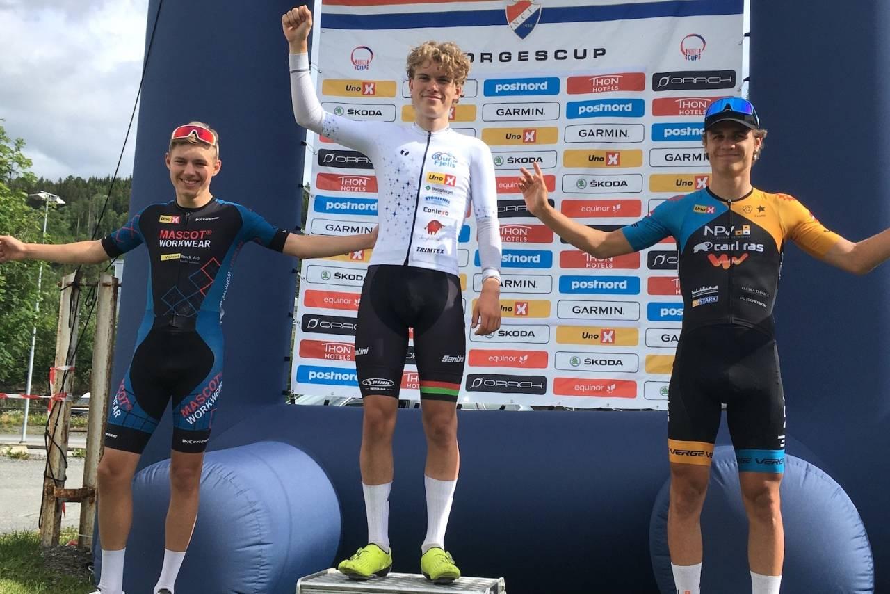 Per Strand Hagenes vant juniorklassen i Tour te Fjells sammenlagt