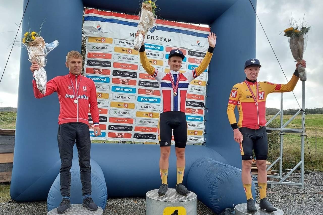 U23-NM FELLESSTART 2020 Anders Halland Johannessen, Martin Bugge Urianstad og Andreas Leknessund