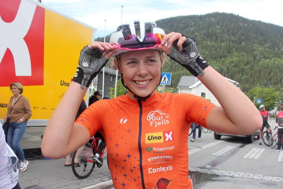 Anne Dorthe Ysland fra Gausdal SK sikret seg sammenlagtseieren i Norgescupen 2020.