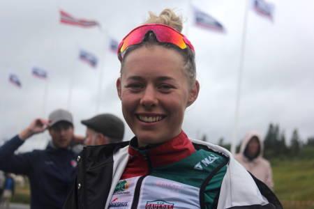 Anne Dorthe Ysland fra Gauldal SK Norgescup FARA Sykkel Festival